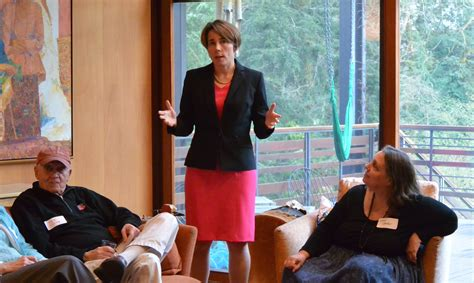 AG Candidate Maura Healey meets with Cambridge Community