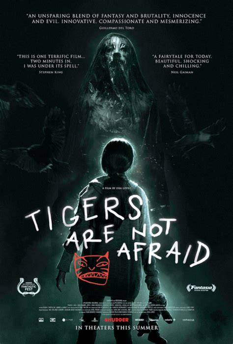 Official US Trailer for Mexican Horror Fairytale 'Tigers