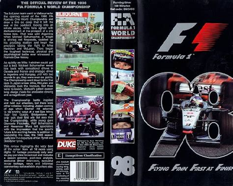 Formula 1 Review DVD/VCRs | The Motor Racing Programme
