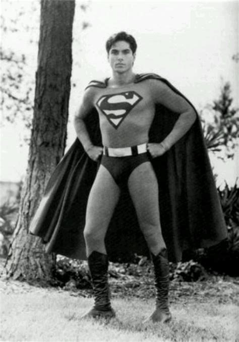 Actor Gerard Christopher as Superboy in the late 80s/early