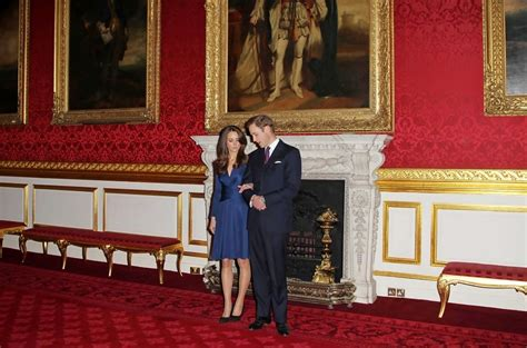 Prince William and Kate Middleton at St