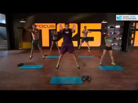 Focus T25 Check out the newest workout from Shaun T