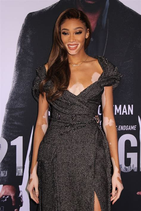 Winnie Harlow At The New York Special Screening of '21