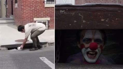 Clown and Dirty: City's 'It'-Inspired PSA Scares Citizens