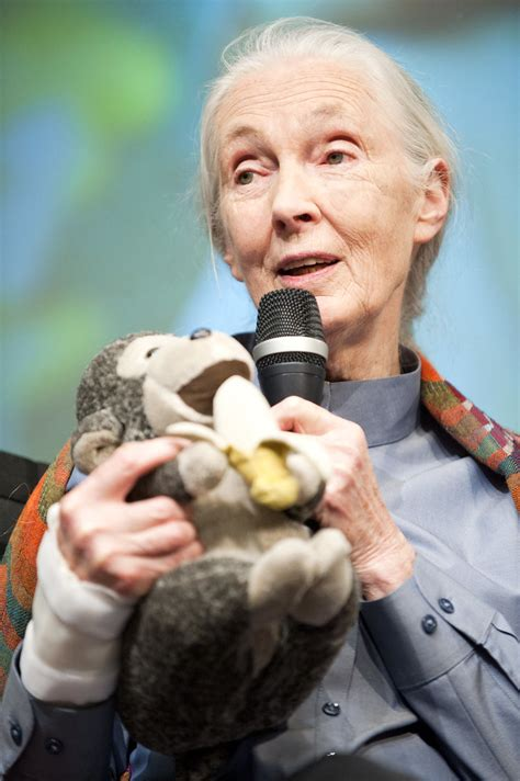 Jane Goodall Visits the World Bank | In front of a full