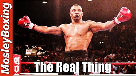 """Mike TYSON KNOCKOUT & HIGHLIGHTS   """"The REAL THING"""