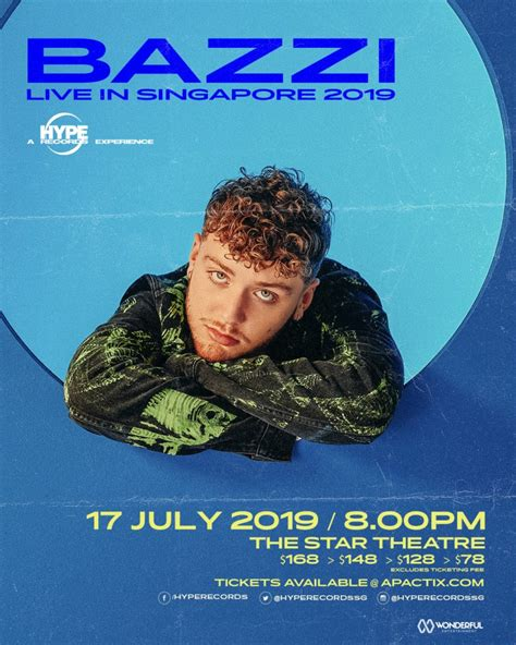 Bazzi Live In Singapore 2019 - The Star PAC