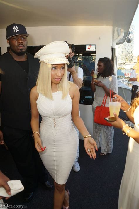 Nicki Minaj Hosts A Yacht Party And Dresses The Part