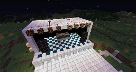 CONCERT STAGE Minecraft Project
