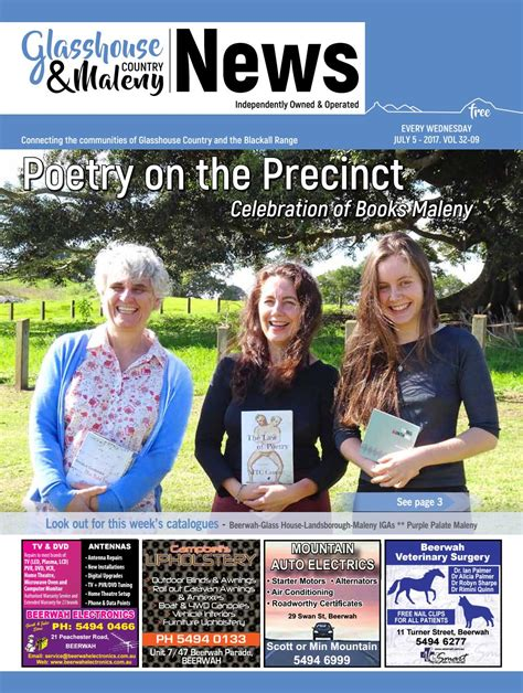 Edition 5 July 2017 by Glasshouse Country & Maleny News